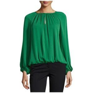 Diane Von Furstenberg • hathaway silk top